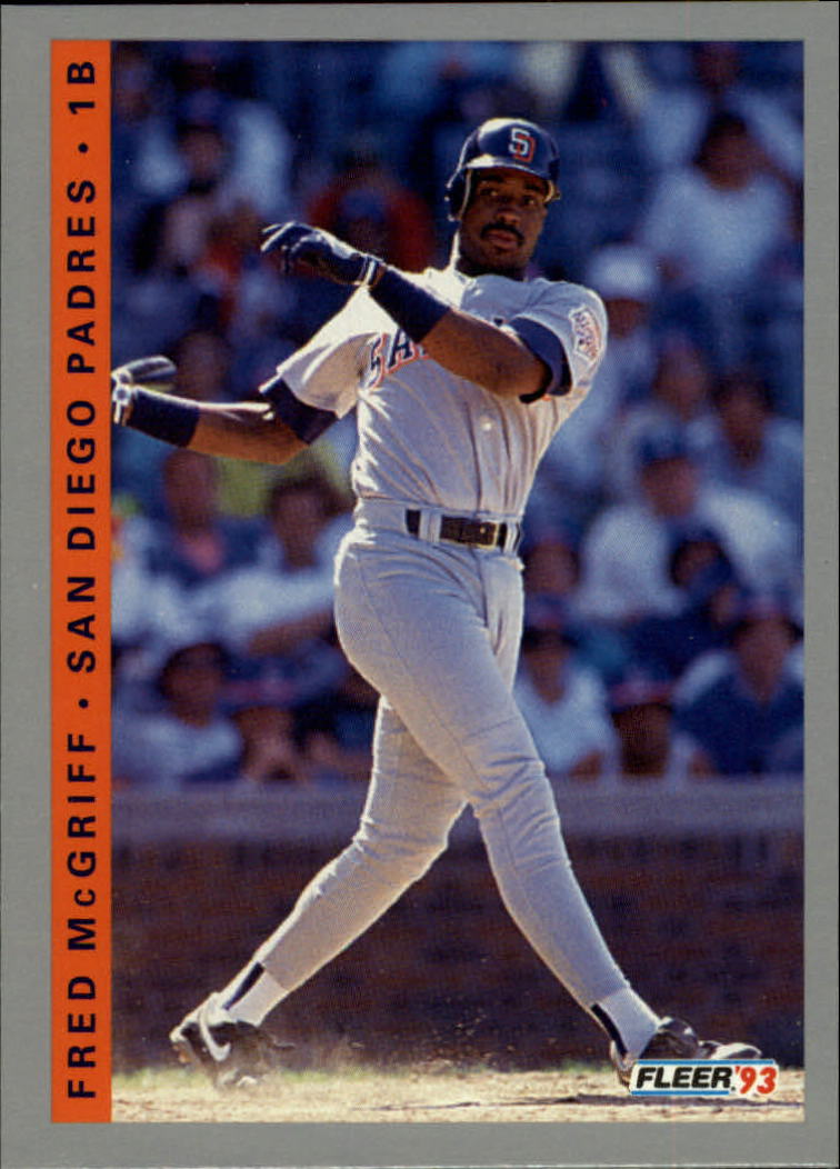 1993 Fleer #143 Fred McGriff