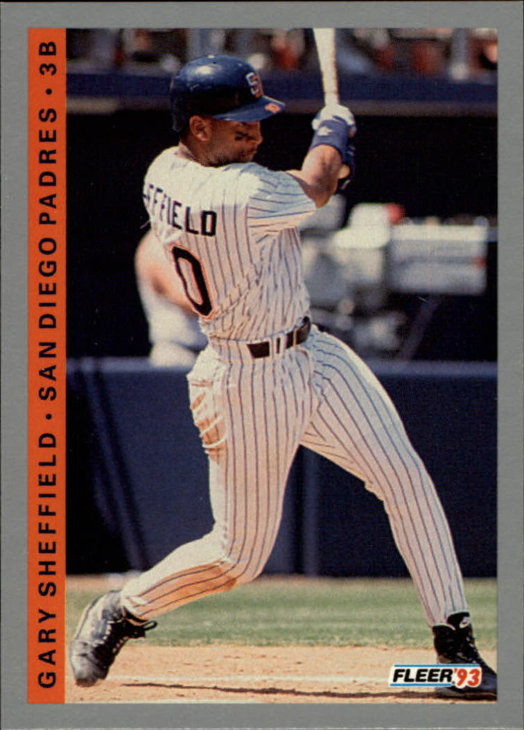 1993 Fleer #147 Gary Sheffield