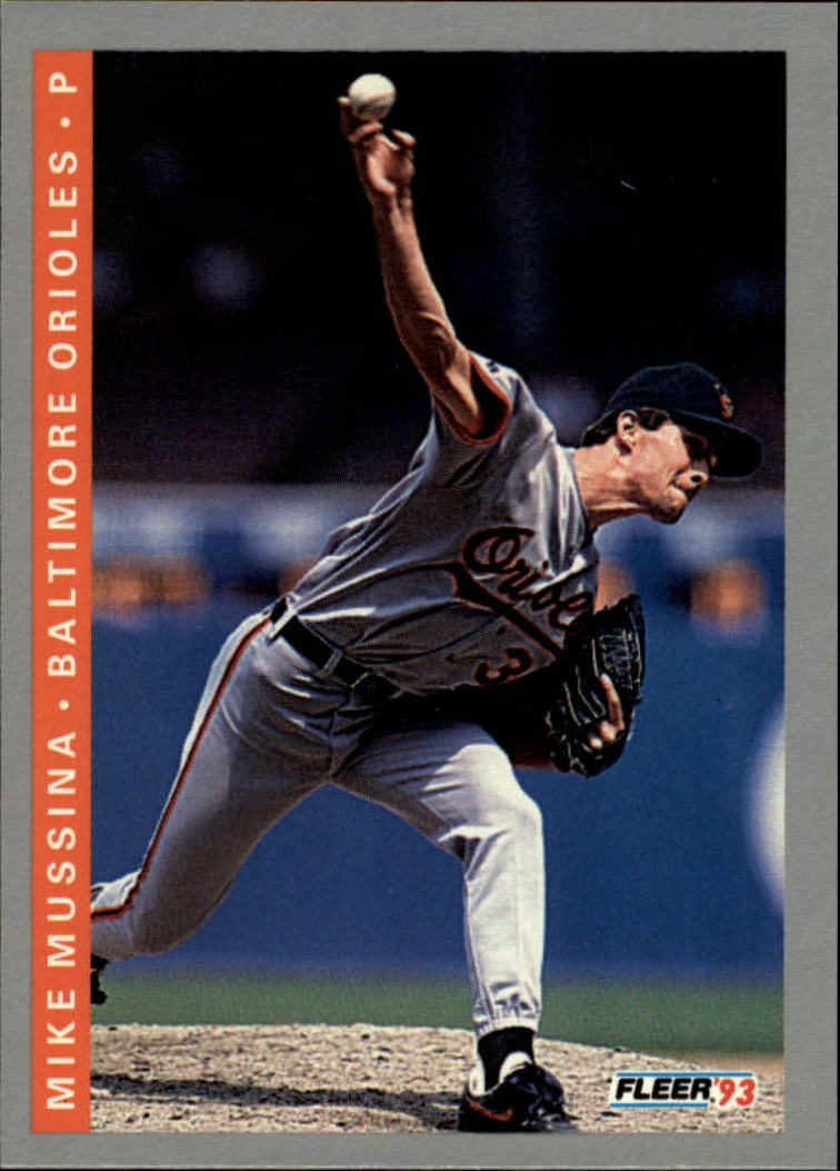 1993 Fleer #172 Mike Mussina