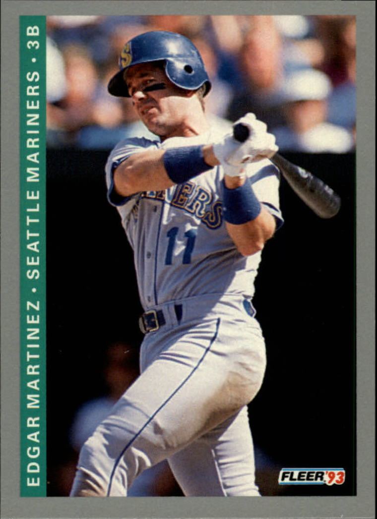 1993 Fleer #309 Edgar Martinez