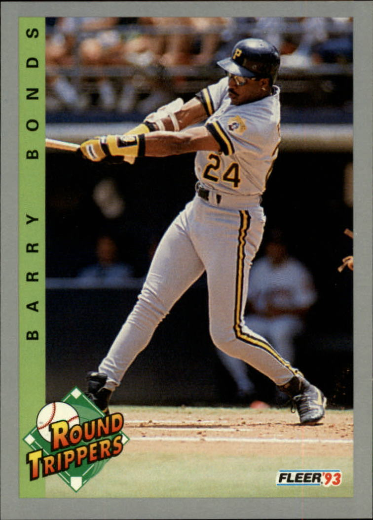 1993 Fleer #350 Barry Bonds RT