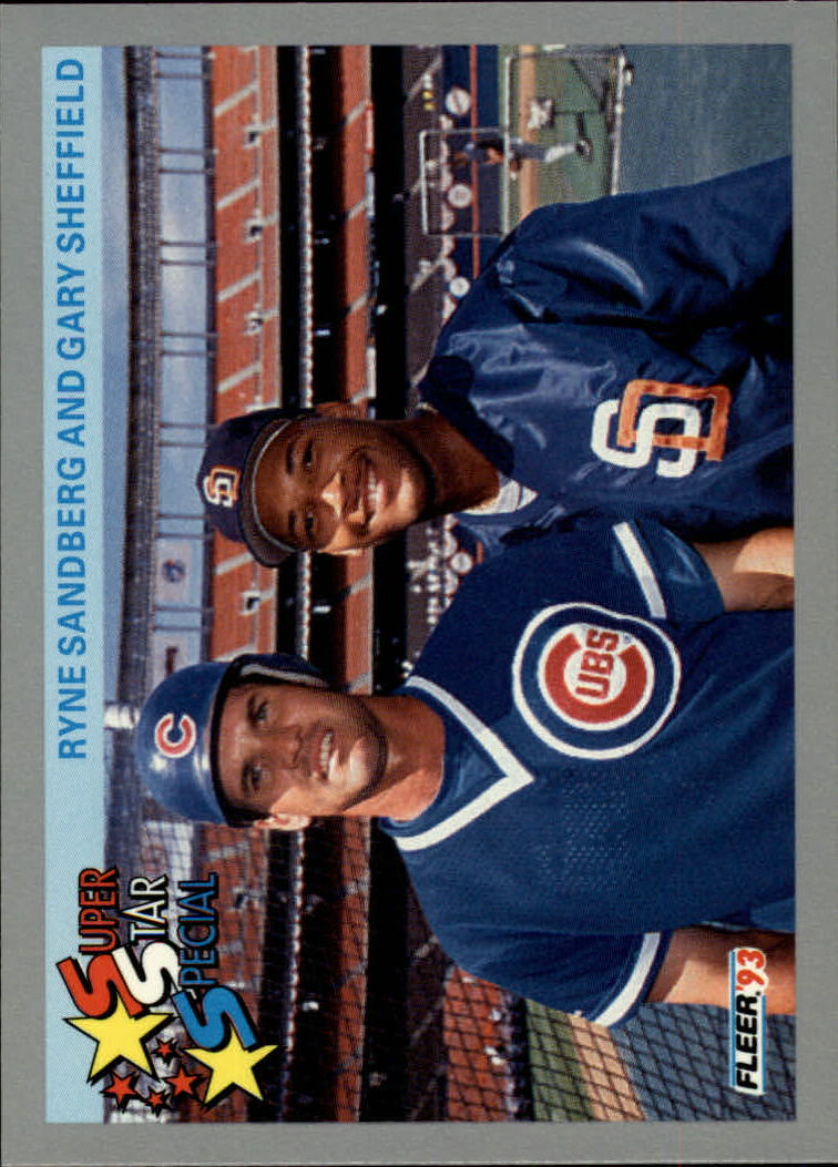 1993 Fleer #356 Sandberg/Sheffield
