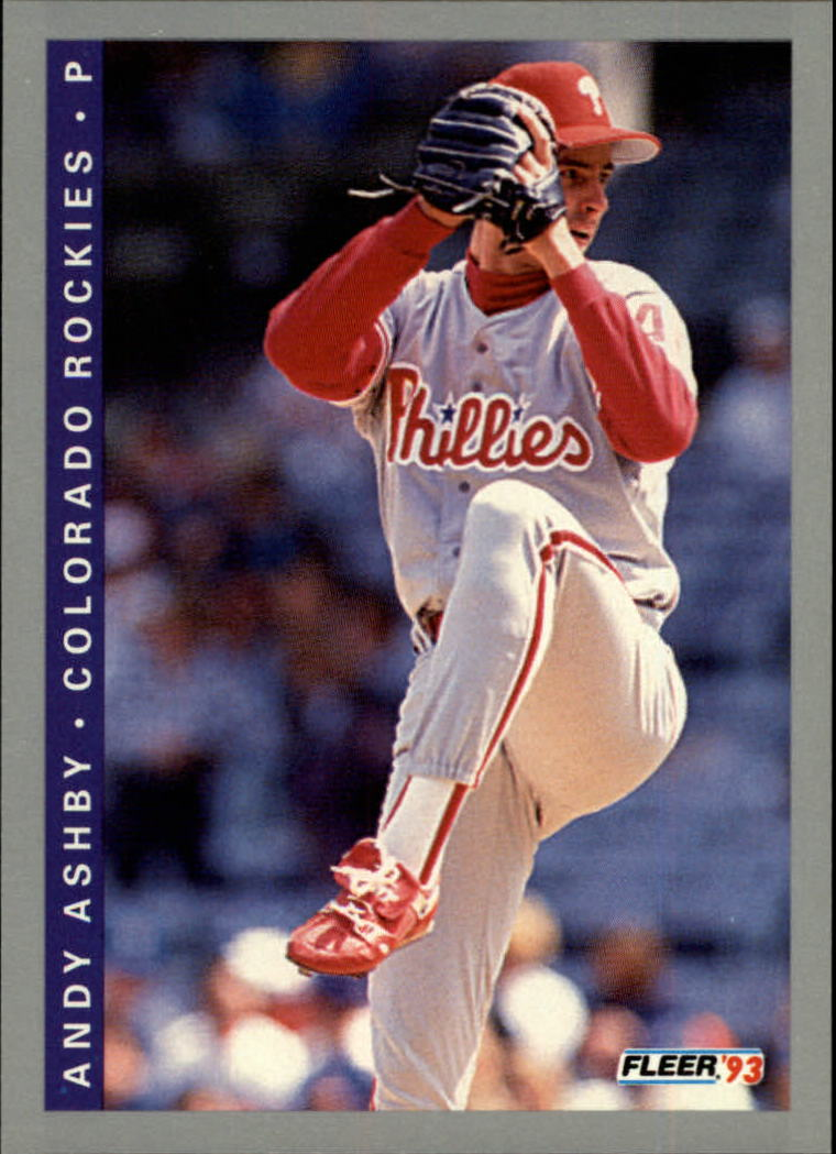 1993 Fleer #401 Andy Ashby