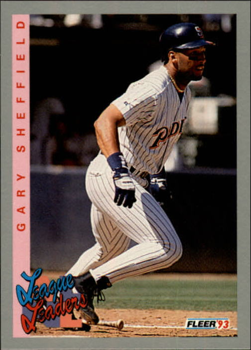 1993 Fleer #704 Gary Sheffield LL