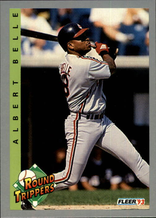 1993 Fleer #712 Albert Belle RT