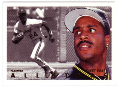 1993 Fleer All-Stars #NL7 Barry Bonds