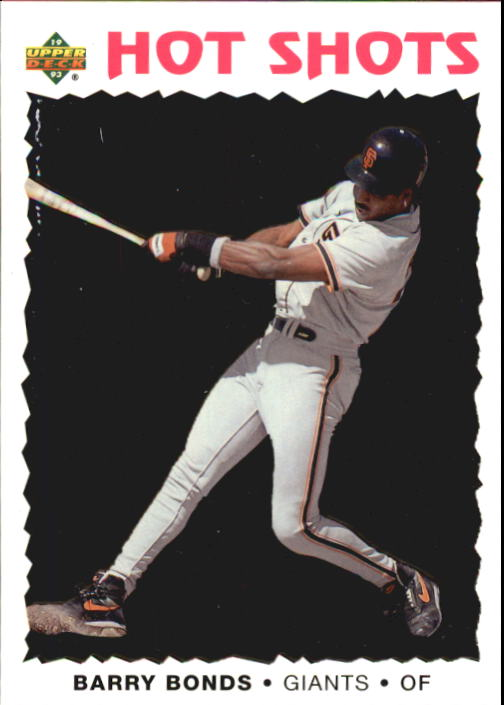 1993 Fun Pack #11 Barry Bonds HS