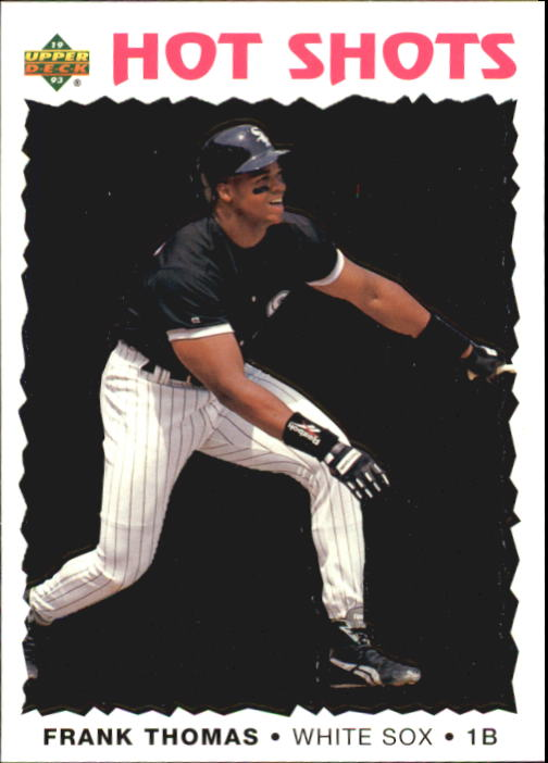 1993 Fun Pack #21 Frank Thomas HS front image