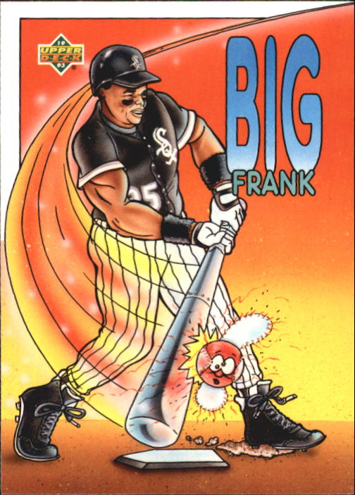 1993 Fun Pack #36 Frank Thomas HERO