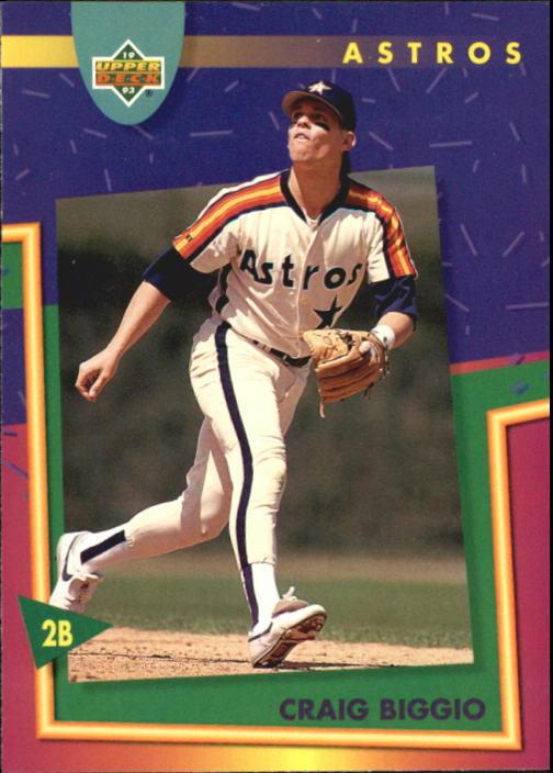 1993 Fun Pack #44 Craig Biggio