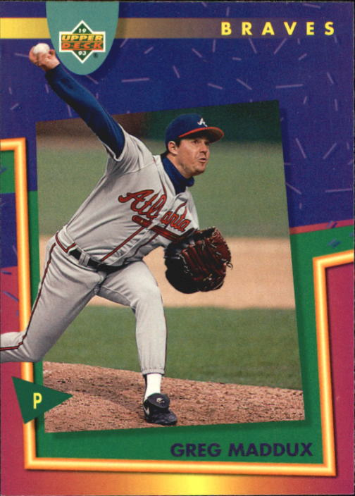 1993 Fun Pack #65 Greg Maddux