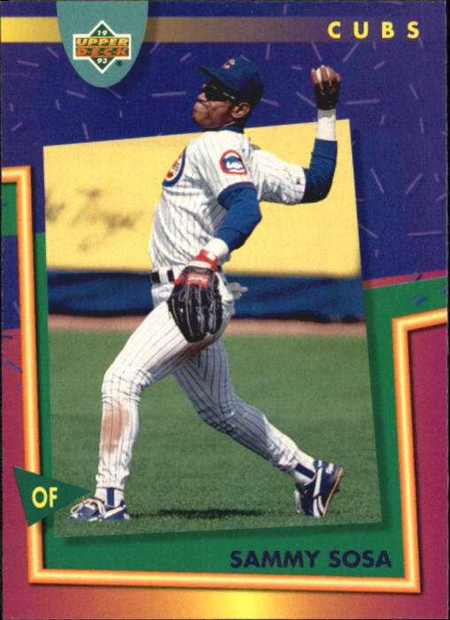 1993 Fun Pack #85 Sammy Sosa