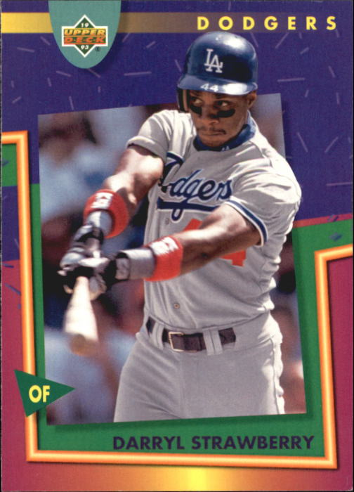 1993 Fun Pack #92 Darryl Strawberry