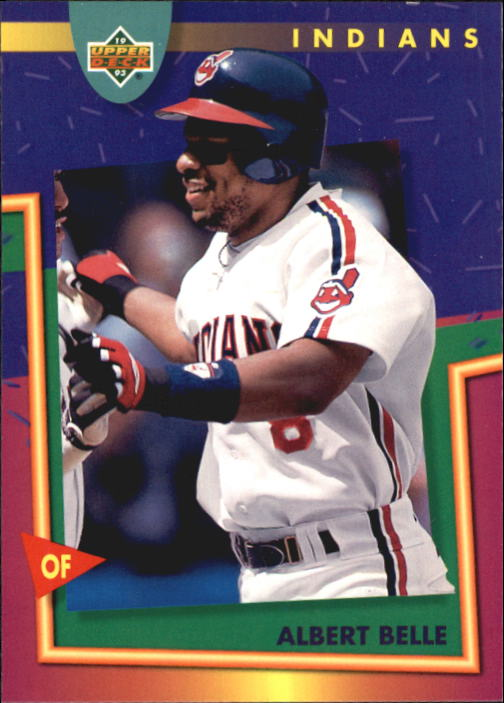 1993 Fun Pack #108 Albert Belle