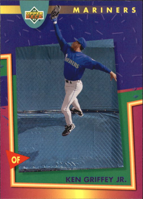 1993 Fun Pack #114 Ken Griffey Jr.