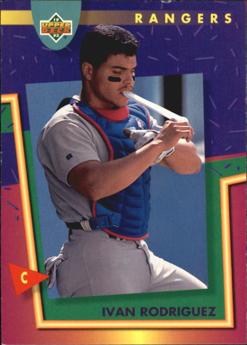 1993 Fun Pack #159 Ivan Rodriguez