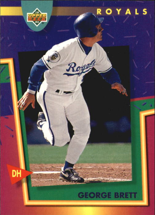 1993 Fun Pack #181 George Brett