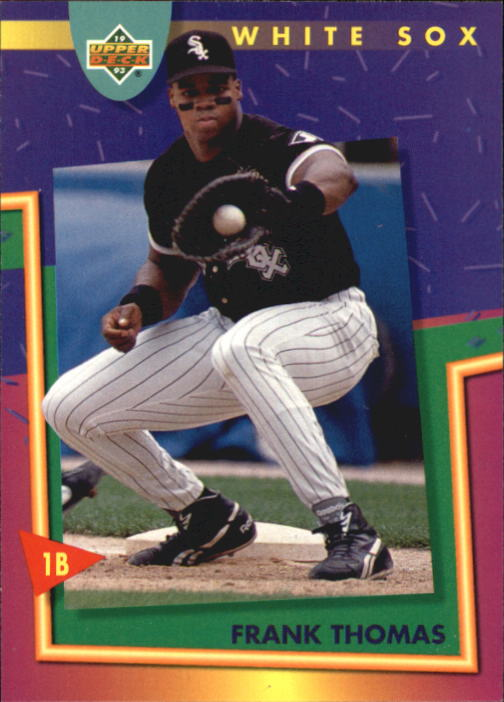 1993 Fun Pack #202 Frank Thomas