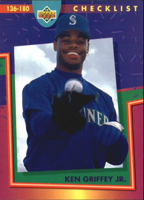 1993 Fun Pack #224 Ken Griffey Jr. CL