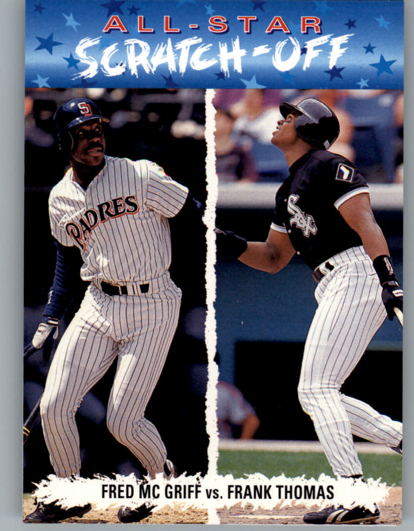 1993 Fun Pack All-Stars #AS1 F.Thomas/McGriff