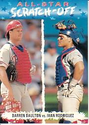 1993 Fun Pack All-Stars #AS2 I.Rodriguez/D.Daulton