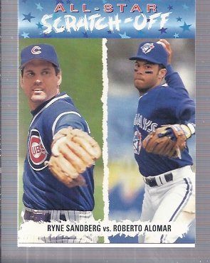 1993 Fun Pack All-Stars #AS4 R.Alomar/R.Sandberg