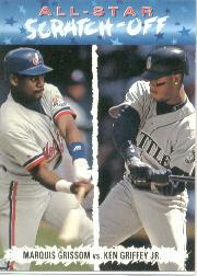 1993 Fun Pack All-Stars #AS8 K.Griffey Jr./M.Grissom