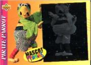 1993 Fun Pack Mascots #2 Pirate Parrot