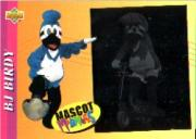 1993 Fun Pack Mascots #4 BJ Birdie