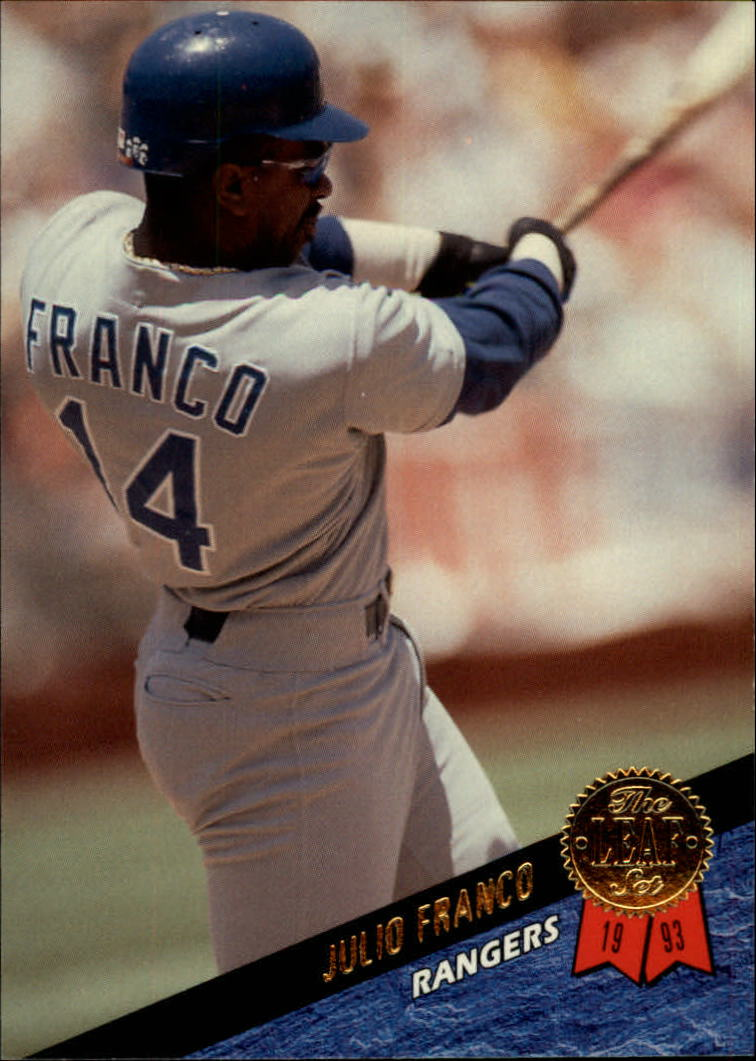 1993 Leaf #27 Julio Franco