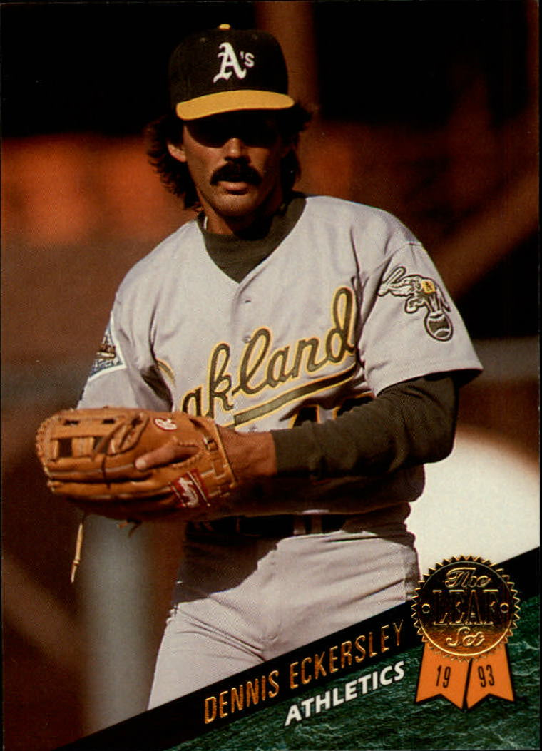 1993 Leaf #72 Dennis Eckersley