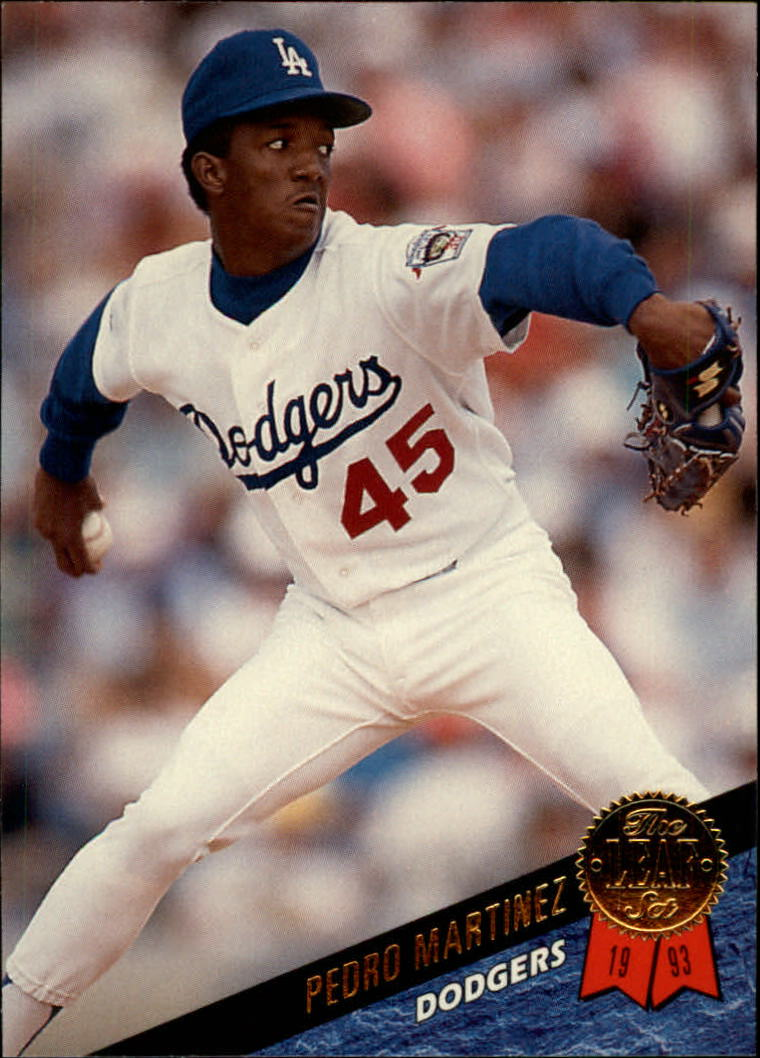 1993 Leaf #163 Pedro Martinez