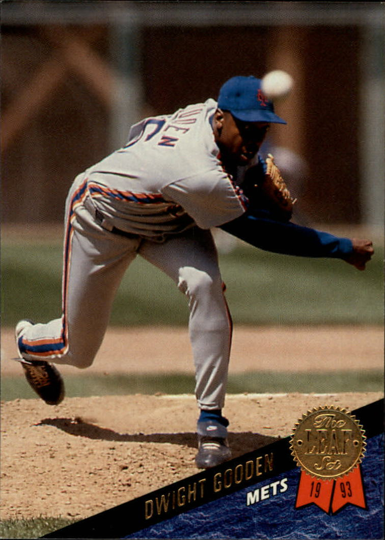 1993 Leaf #203 Dwight Gooden