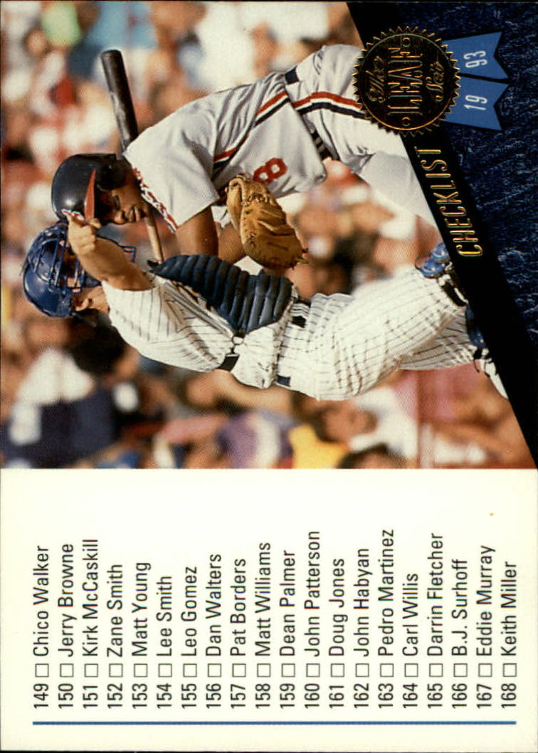 1993 Leaf #220 Albert Bell CL