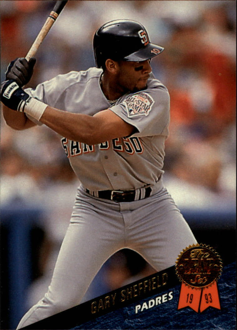 1993 Leaf #307 Gary Sheffield