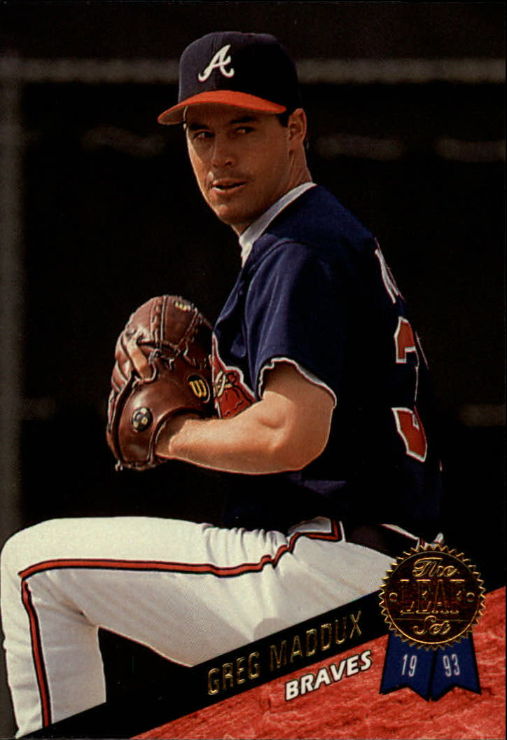 1993 Leaf #326 Greg Maddux