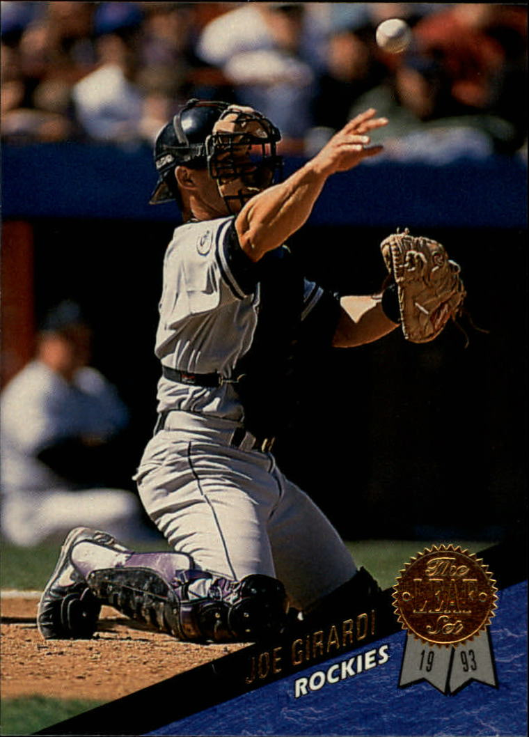 1993 Leaf #332 Joe Girardi