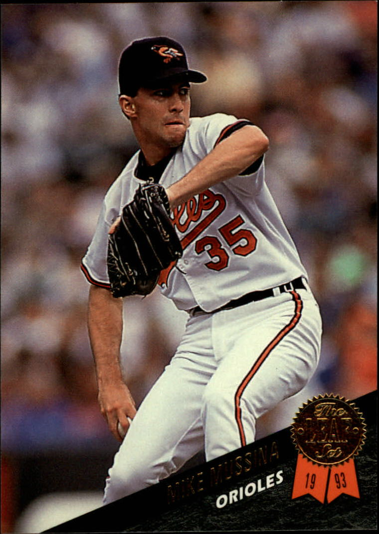 1993 Leaf #343 Mike Mussina