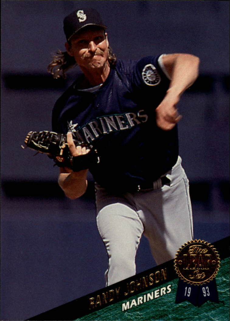 1993 Leaf #380 Randy Johnson
