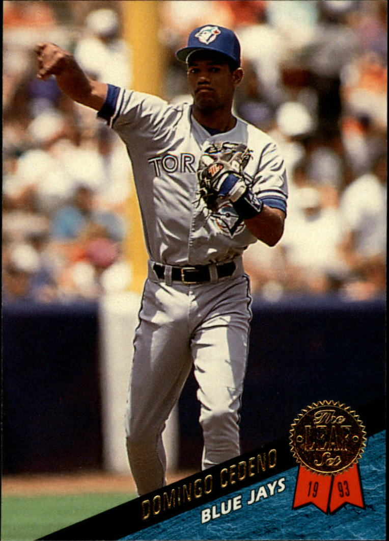 1993 Leaf #486 Domingo Cedeno RC