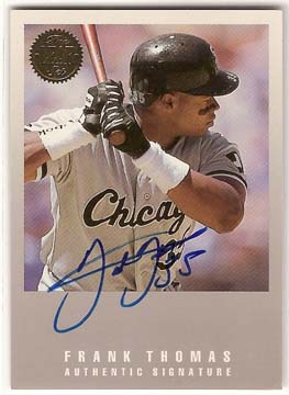 1993 Leaf #FT Frank Thomas AU/3500