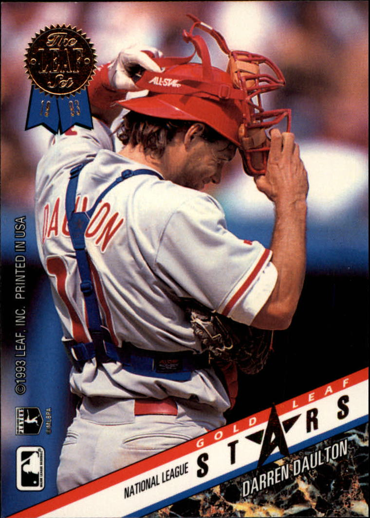 1993 Leaf Gold All-Stars #R1 I.Rodriguez/D.Daulton