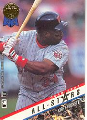 1993 Leaf Gold All-Stars #U7 K.Puckett/B.Bonds