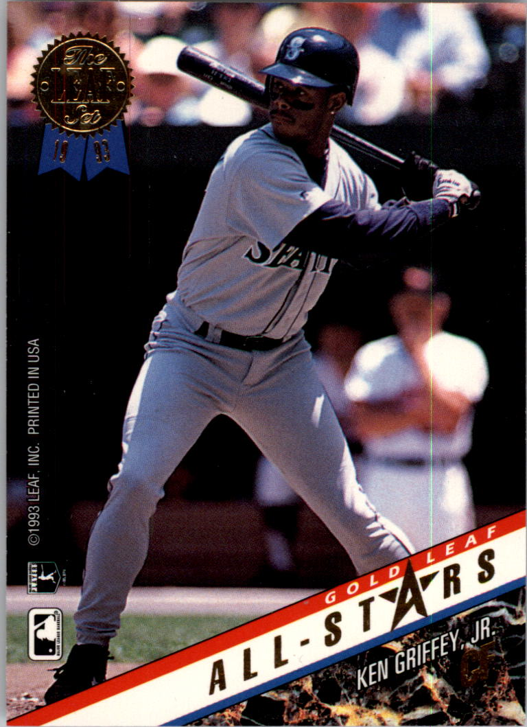 1993 Leaf Gold All-Stars #U8 K.Griffey Jr./M.Grissom