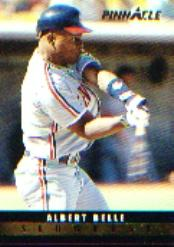 1993 Pinnacle Slugfest #11 Albert Belle