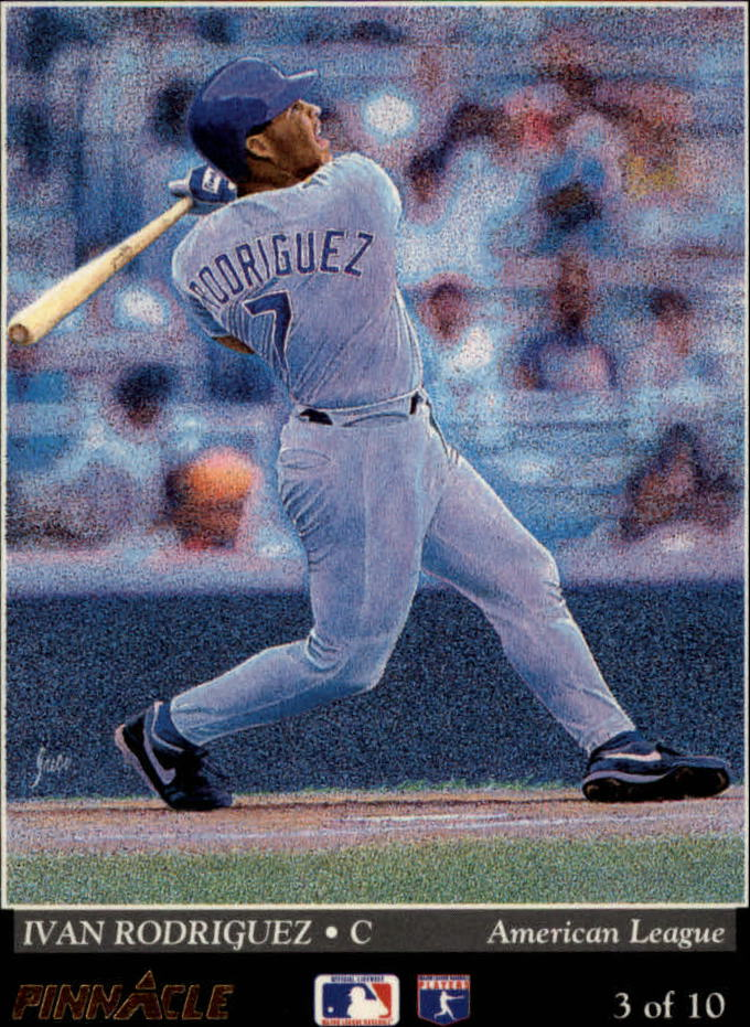 1993 Pinnacle Team Pinnacle #3 I.Rodriguez/D.Daulton