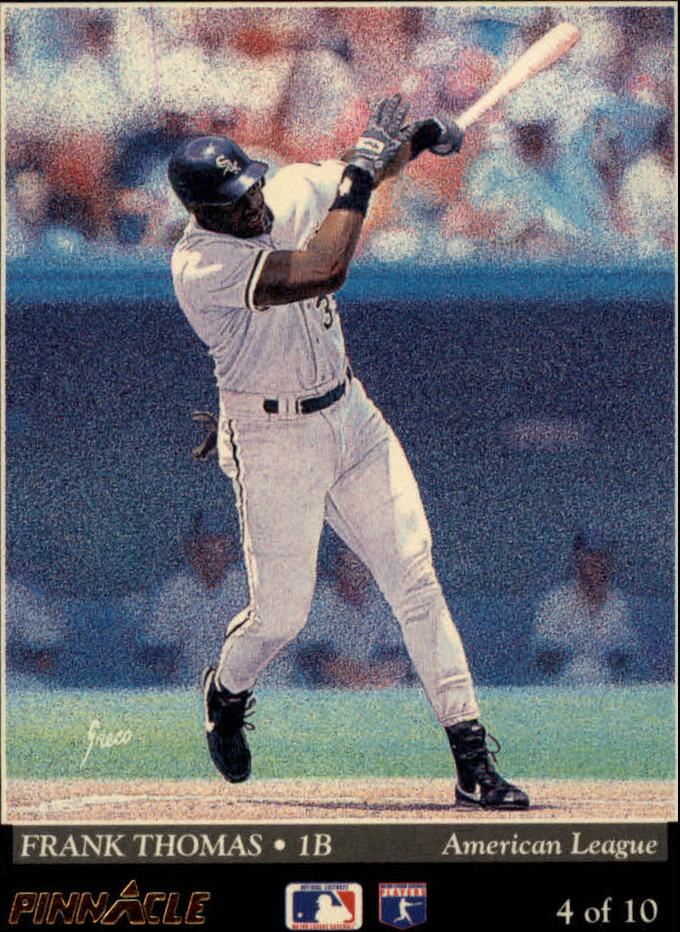 1993 Pinnacle Team Pinnacle #4 F.Thomas/F.McGriff