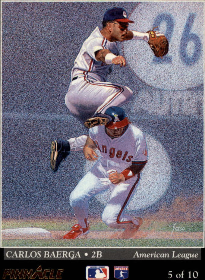 1993 Pinnacle Team Pinnacle #5 D.DeShields/C.Baerga