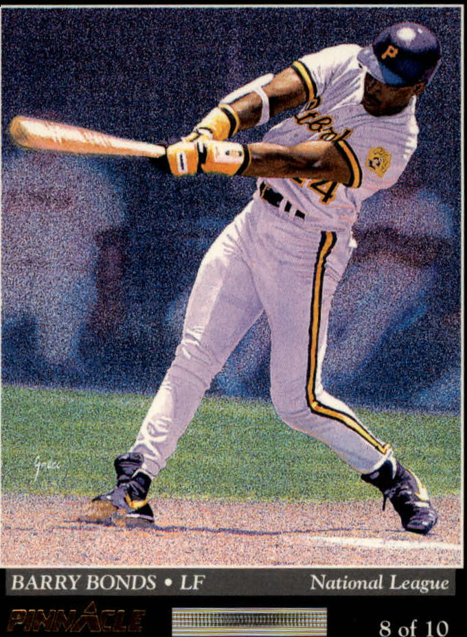 1993 Pinnacle Team Pinnacle #8 J.Gonzalez/B.Bonds