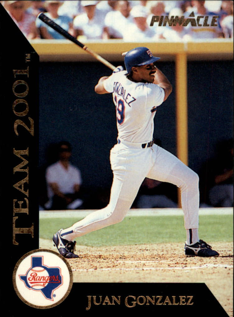 1993 Pinnacle Team 2001 #13 Juan Gonzalez